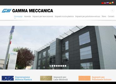 Nuovo sito web di Gamma Meccanica