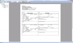 Stampa programma tecnico e automezzo